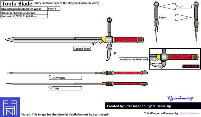 File:Tonfa Blade Level 3 - My fanmade.png