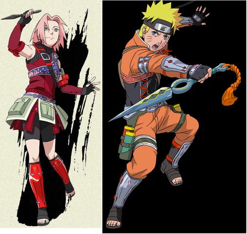 File:Naruto and Sakura wore armor.png