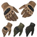 Tactical Gloves Military Army Paintball Airsoft Shooting Police Carbon Hard Knuckle Full Finger Gloves