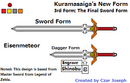 Kuramasaiga - Redrawned (3rd stage, remodeled)