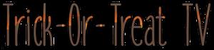 Trick or treat tv logo (by odrey)