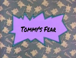 Tommy's Fear title card