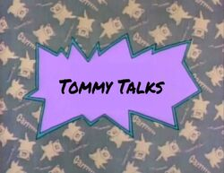 Tommy Talks title card