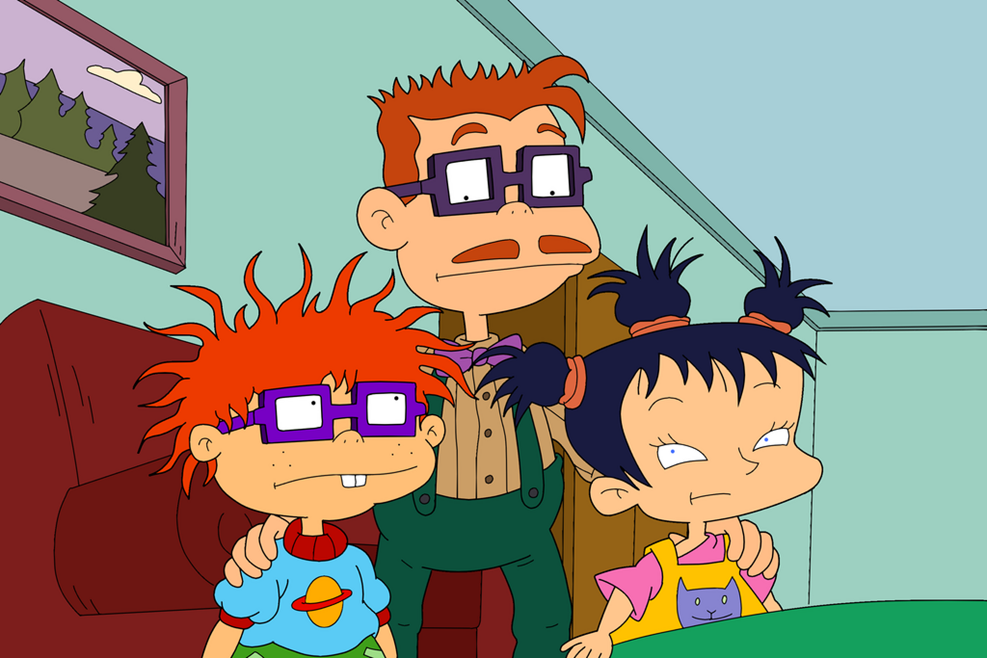 Kimi loves her new big brother Chuckie. Rugrats. |Rugrats Chuckie And Kimi