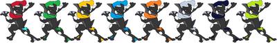 King Ninja Palette Swaps