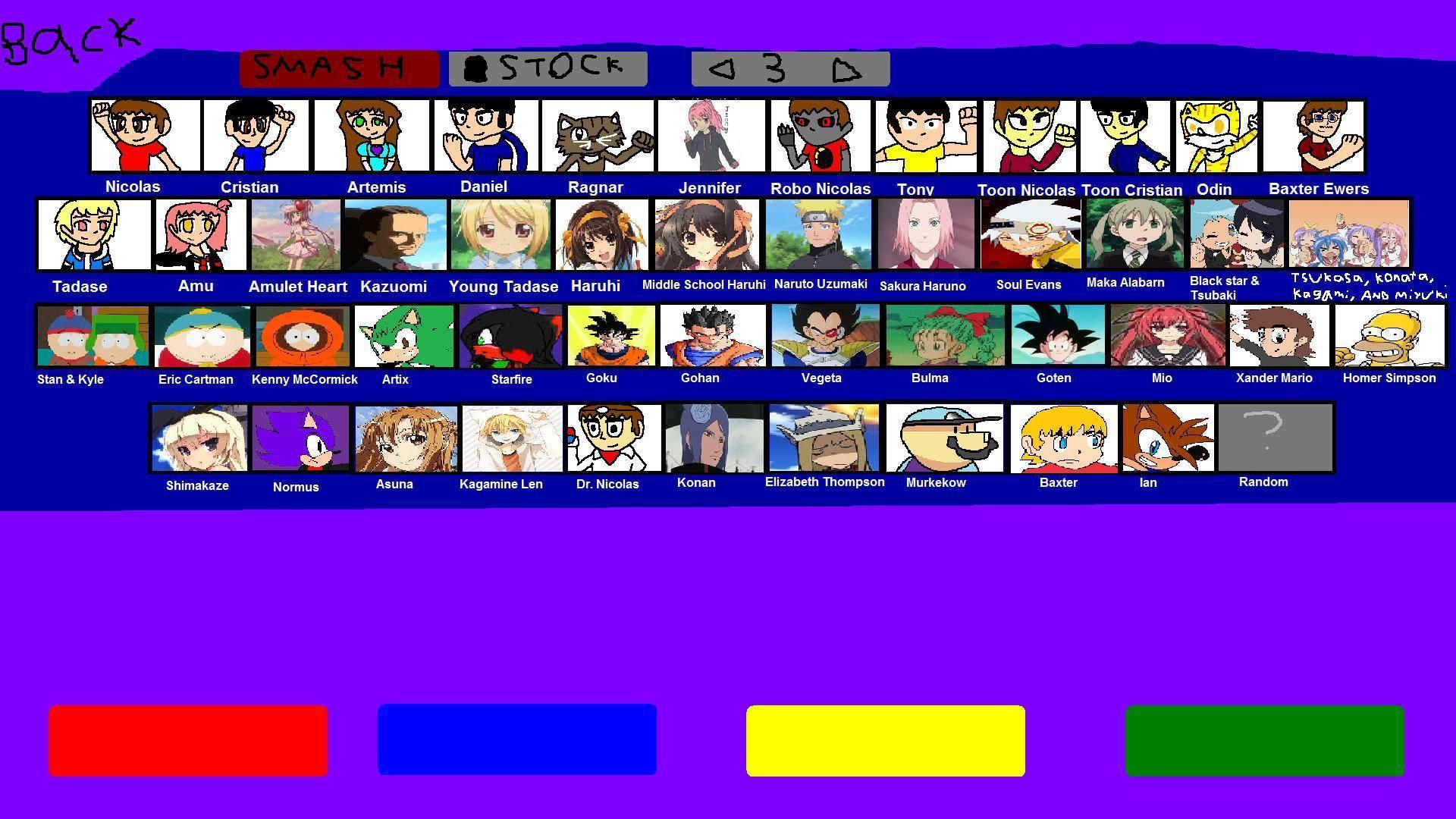 Super Smash Bros  Project RP | Fanon Smash Bros  Wiki