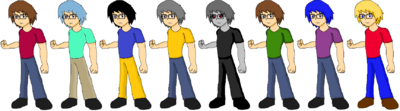 Baxter Ewers Palette Swaps