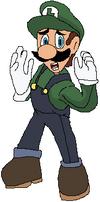 Luigi Worlds Collide