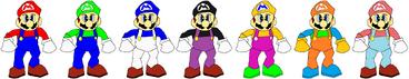 SM64 Mario Palette Swap