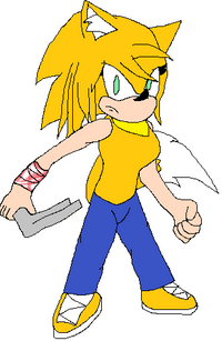 Skyler the Hedgefox