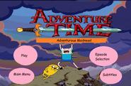 Adventure time dvd menu