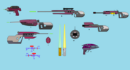 Irken weapon doodles by seany90-d90wra9