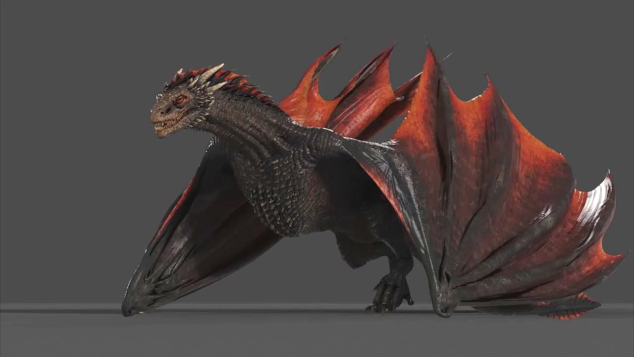 Dragons Game Of Thrones Concept Art