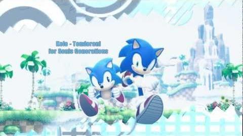 Kele - Tenderoni Sonic Generations Trailertheme (Highest Quality DL)