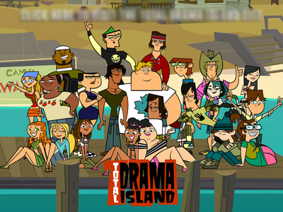 Total Drama Island poster