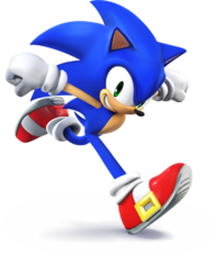 509px-SSB4 - Sonic Artwork