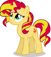 Sunset shimmer pony
