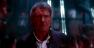 Han Solo in Episode 7 as he confronts Ryu Kitur
