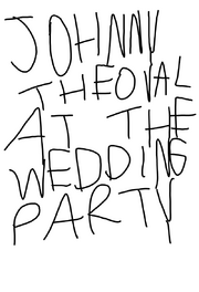 Johnny the Oval at the Wedding Party logo