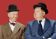 Stanley Laurel and Oliver Hardy