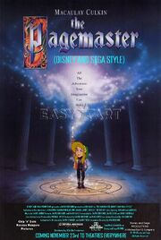 The Pagemaster (Disney and Sega Style) Poster