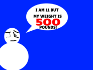 11 Year Old Boy Weights 500 Pounds