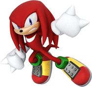 Knuckles Sonic Lost World