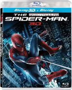 The amazing spiderman cover portada caratula blu ray br blu ray 3d 2012 movie pelicula andrew garfield disney marvel