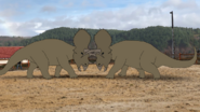 TriceratopsFight