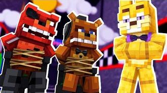 Glitchtrap Takes Over! Minecraft FNAF Roleplay