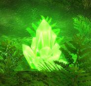Green Power Crystal