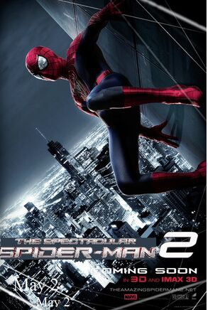 The amazing spider man 2 movie poster by oroster-d6d1d2u