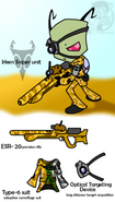 Irken sniper unit by the chaos theory