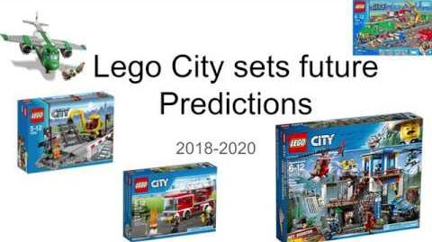 Lego City sets future Predictions 2018-2020