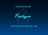 Pentagon Film Distributors Co., Inc. 1944-1950 Logo