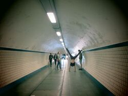 Underground tunnel antwerp