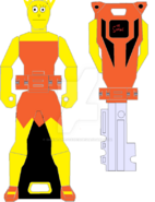 Lisa simpson ranger key by signaturefox2013-d8f4qww