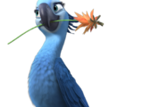 Jewel the Macaw (The Adventures of Blu and Gelinho)