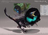 De-Avianed Superb Bird of Paradise