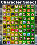 LoZvMD Character Select (All Characters Unlocked) Final Release