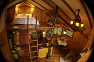 Treehouse inside