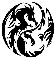 Miao Yin Yang symbol