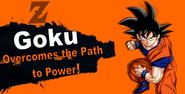 Goku SSB4 Reveal
