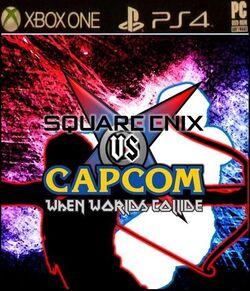 Square Enix vs Capcom box art