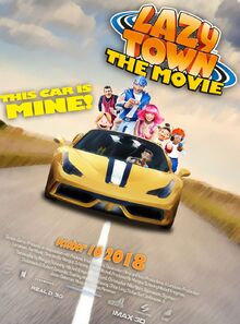 Lazytown- The Movie Other Poster