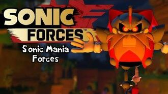 Sonic Forces Mods Heavy King Boss Fight (Sonic Mania Forces)