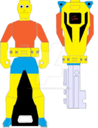 Bart simpson ranger key by signaturefox2013-d8f4qmt