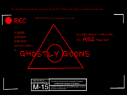 GHOSTLY GOONS - poster