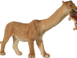 Long-Necked Lion