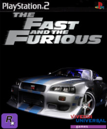 The Fast and the Furious PS2 Cover Art